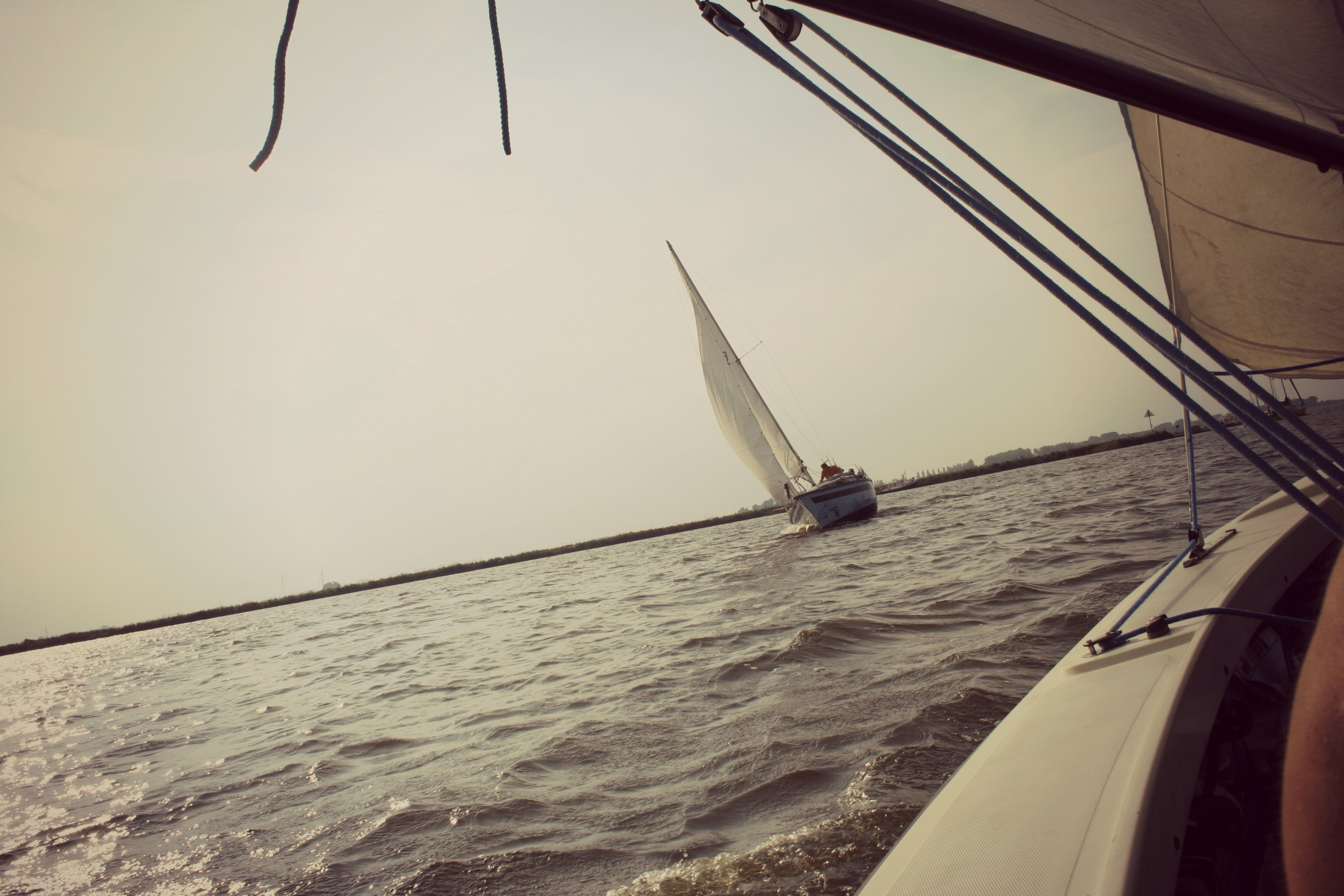 Sailing in Friesland