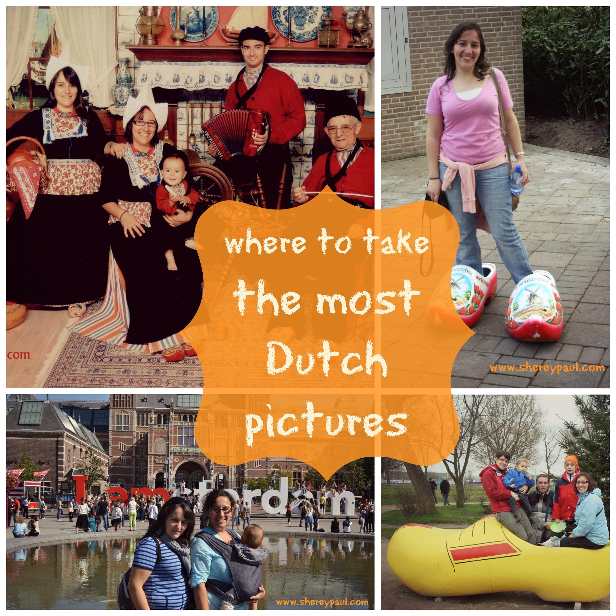 Dónde hacer las fotos más típicas holandesas