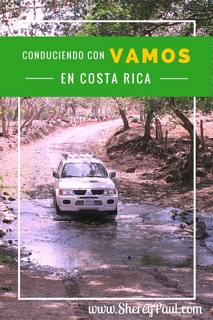 Conduciendo en Costa Rica con Vamos