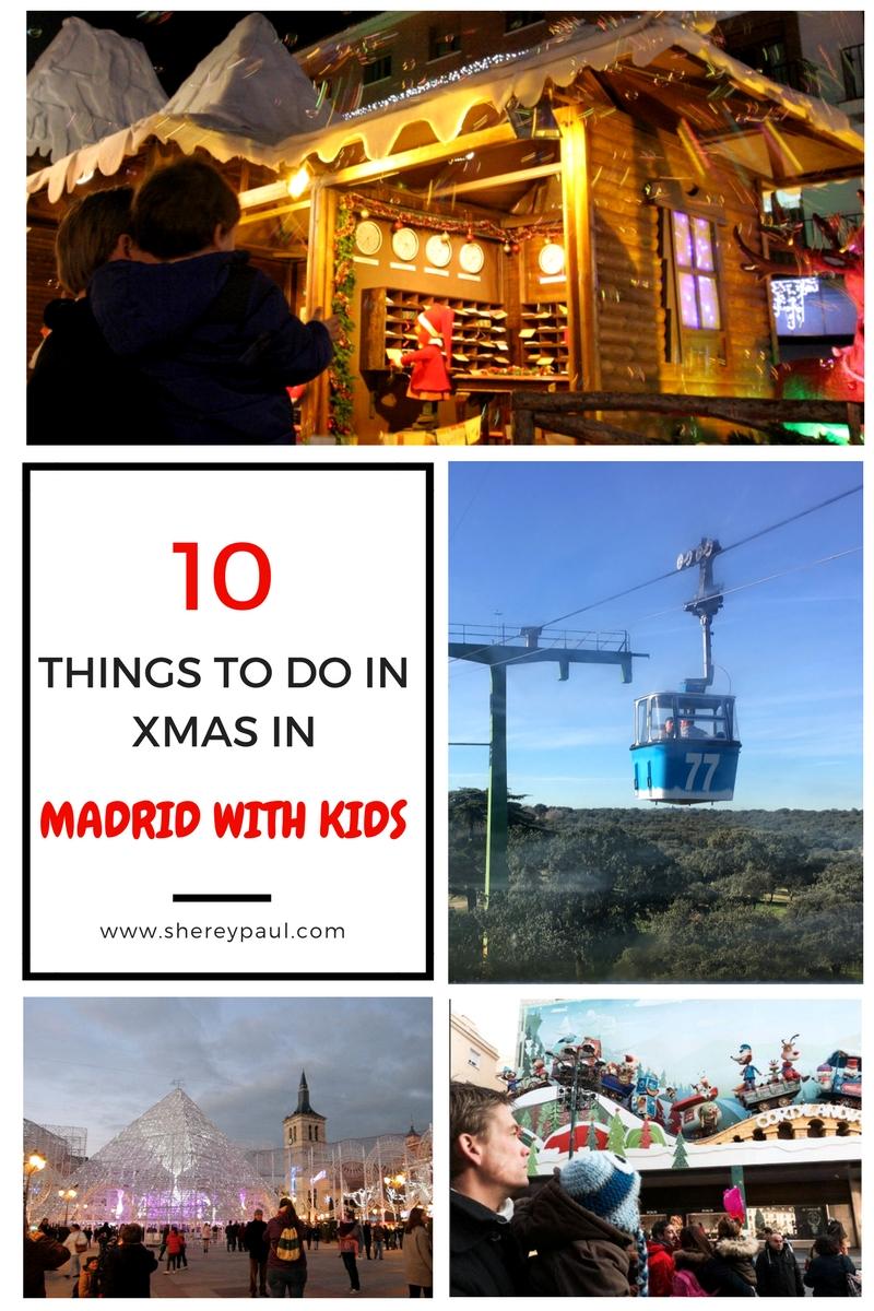 Los mejores planes para las Navidades en Madrid con niños