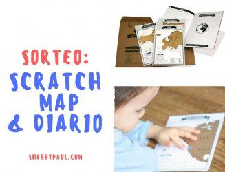 Sorteo: scratch map & diario de viajes