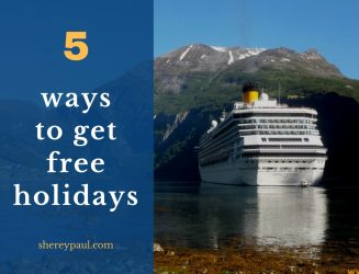 5 ways to get free holidays