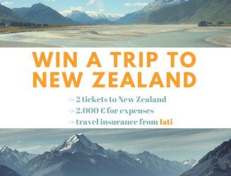 Sorteo de un viaje a Nueva Zelanda con Iati