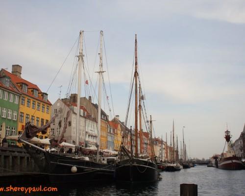 Postal desde Copenhagen Nyhavn - mm