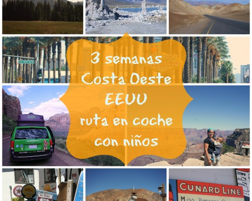 Itinerario y gastos de nuestra ruta en coche por la Costa Oeste con Jucy